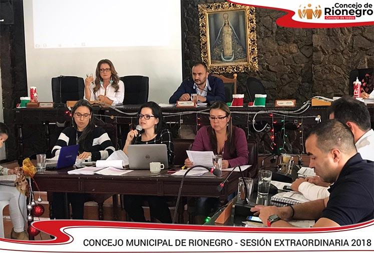 Adopción del Estatuto Tributario para el municipio de Rionegro