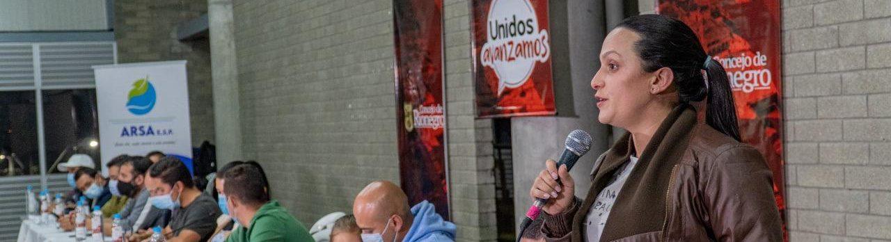 Concejo de Rionegro rechaza maltrato verbal contra Concejala de la ciudad