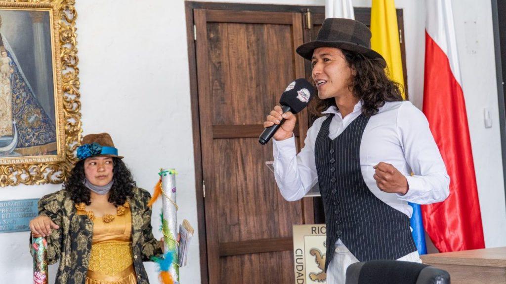 Durante la sesión, artistas de la subsecretaría de Cultura, Patrimonio e Industrias Creativas, invitaron a la comunidad a participar del Festival Rioleo, que se celebra en Rionegro. Consulte la programación aquí.