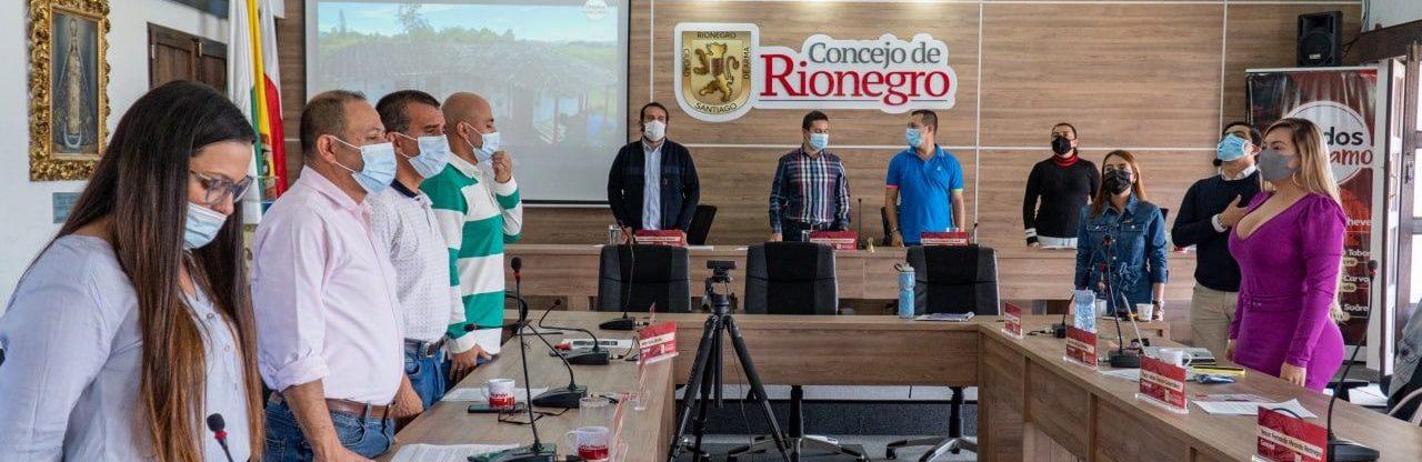 Concejo de Rionegro aprobó dos proyectos de acuerdo