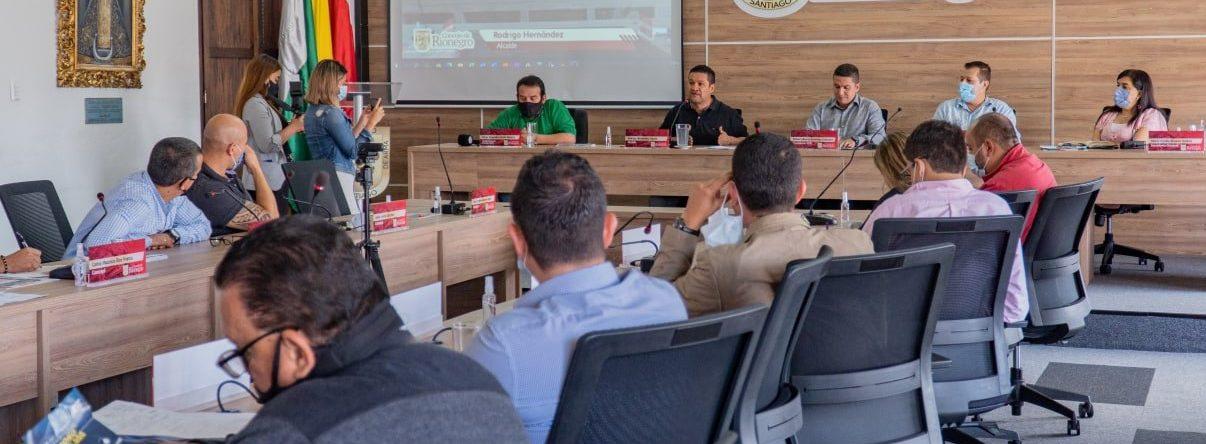 Inició el tercer y último periodo de sesiones ordinarias 2021 en el Concejo Municipal de Rionegro