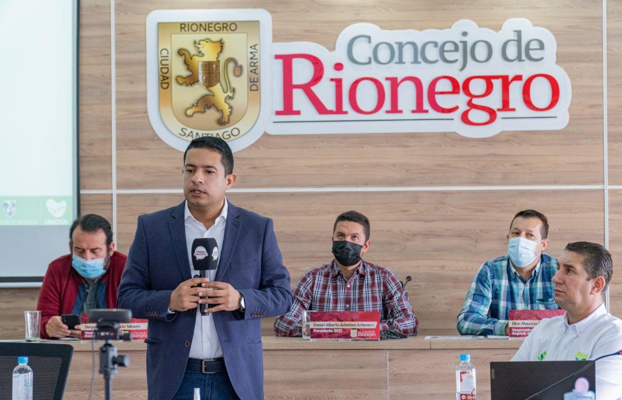 Gerente del IDEA visitó el Concejo de Rionegro